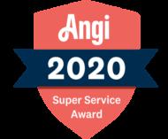 Drain Designs Earns Angi's Super Service Award for 2020